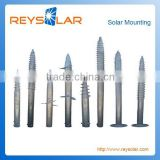 Helical Solar Panel Mounting Ground Screw for Power Plant Factory directly supply anchor Bolts