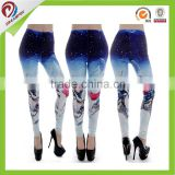 manufactory custom sublimation Compression tight yoga leggings print, wholesale fitness yoga leggings