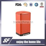 6L/12L/30L Stainless Steel Slow close Pedal Bin Garbage Bin Step Bin Trash cans Waste Bin