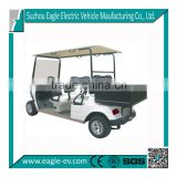 electric utility cart,EG2049H,4 seats with cargo bed, CE approved