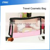 (120251)Newest Ladies Fashion Clear PVC Travel Cosmetic Bag                                                                         Quality Choice