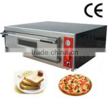PA09 PERFORNI stainless steel panel single layer electrical pizza ovens with halogen heater lamp
