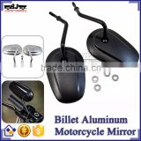 BJ-RM-062 New Style Universal CNC Billet Aluminum Black Motorcycle Mirror for Harley Sportster 883