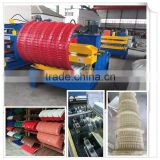 High quality hydraulic roofing sheet crimping machine/roofing curve machine