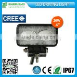 Cree chip flood beaming 90DEG 20W led work lights QS-REWL20-C