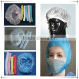 2014 Free Samples disposable face mask with tie on/ Non woven Face Mask/Active Carbon Face Mask