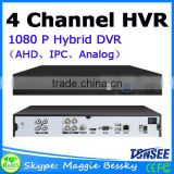 New Coming AHD 4 ch DVR 1080N DVR CCTV camera Recorders