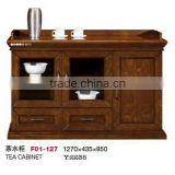 Chinese traditional tea distressed wood cabinet factory sell directly YC F01-127                                                                         Quality Choice