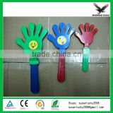 Hot Sale Top Quality Football Fan Hand Clapper/ Plastic Hand Fan Clapper (directly from factory)