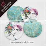 small decorative mirrors / small hand mirrors / small round mirrors