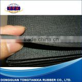 sticky rubber material Self-adhesive Natural Rubber foam sheet rubber mesh rubber sheet with mesh fabric                                                                         Quality Choice