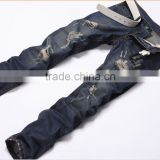 Hip-Hop Mens Jeans Pants Baggy Denim Streetwear Trousers HipHop Rock Revival Jeans