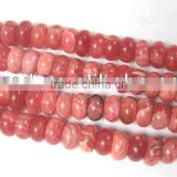 Wholeasle high quality dye rhodochrosite button beads jewelry