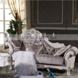 chaise recliner lounge sofa / royal fabric chaise longue GFY101