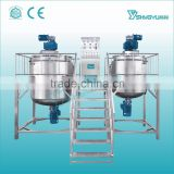 Alibaba China Supplier automatic 500-5000L capacity liquid body lotion making machine