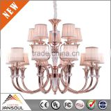 banquet holl stainless pendant lamp orbital chandelier