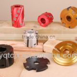 TCT Router Bit,Hinge Planing And Slotting Cutter Head With Changeable Mould Knives For Shape Cutting