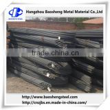 Steel rebar production line JIS3112 cheap construction steel rebar price per ton from china