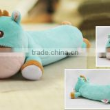 plush pencil bag/student's animal plush pencil bag/ plush and stuffed horse shape Pencil bag/nice design Pencil case                                                                         Quality Choice