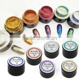 Hot Sell Magic Shining Nail Art Chrome Pigment Mirror Effect Nail Glitter Set