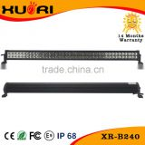 72w 120w 180w 240w China Factory High Power Black or Marine White Powder Coated 12V 24V LED Light Bar 4x4 for Trucks and Boats