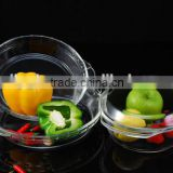 High temperature resistant glass bowl The high borosilicate glass bowl