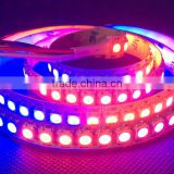 Popular sale digital addressable DC5v rgb professional ws2812b led strip lighting ip68 waterproof 10mm