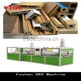 New Chinese Machinery PVC/PP/PE Wood plastic profile Extruder machine line for wooden plastes wide door production