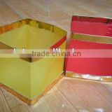 Floating Colored Square Paper Lanterns For Decoration
