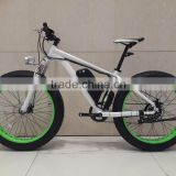 "26"" Fat tyre electric bike with 36V 500W brushless hub motor fat tire electric bike"
