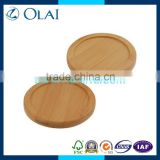 luxury eco-friendly bamboo saucer