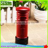 Metal crafts Creative Souvenir British Red Mailbox Shape Money Saving Piggy Bank Pot                                                                         Quality Choice