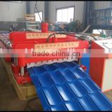 Trade Assurance Antique Color Steel Roof Steel Corrugated Glazed Tile Roll Forming Machine