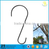 Rust Resistant Steel Metal Tree Branch Hook for Bird Feeders, Plants and More - 12 inch - Outdoor and Indoor (factory)                                                                         Quality Choice