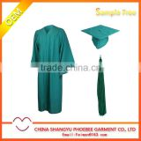 Hot Sell Cheap Adult Matte Graduation gown and cap