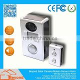 Wifi Baby Monitor Solar Camera Alarm With Video Record and Solar Panel
