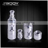 portable electronic cigarette! new atomizer 2014 S-body X-rock RDA refillable perfume atomizers