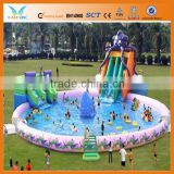 Various large inflatable water pool toys for sale