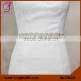 FUNG 800228 Wholesales Wedding Accessories Pearl Wedding Dress Belt
