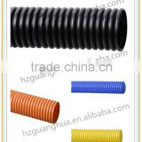 "1/5"" to 2"" plastic flexible corrugated pipes, wires-protection hose"