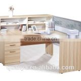 wood modern office furniture table designs/executive office table from china factory