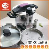 kitchen appliance 3L-7L pressure cooker Energy-saving stainless steel pressure cooker set