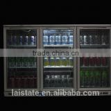 Single Doors Back Bar Under Counter Display Beer Cooler/Beer Bottle Refrigerator