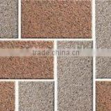 Ceramic material made outdoor plaza paving tile flooring plaza tile decorative Chinese paving tile cheap price