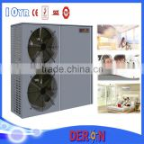 High efficient CO2 water heater heat pump air to water for heating and cooling with Wilo water pump