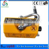 0.1t to 10t permanent magnetic lifter lift without slings,clamps,or other holding devices