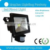 China factory wholesales price Pir sensor floodlight waterproof 20w led outdoor flood lights IP65