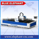 Metal cutting stainless steel laser cutting 1530 , fiber laser cutting equipments 500watt