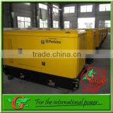 100Kw water generators 125Kva silent generator diesel portable power with 1006TAG engine