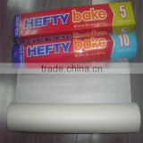 waterproof and non-stick baking paper in small rolls